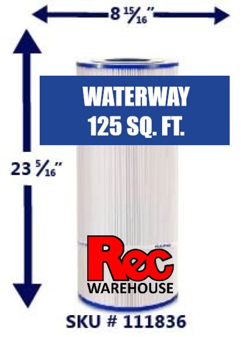Waterway - Pro Clean Filter Elements 75 SF