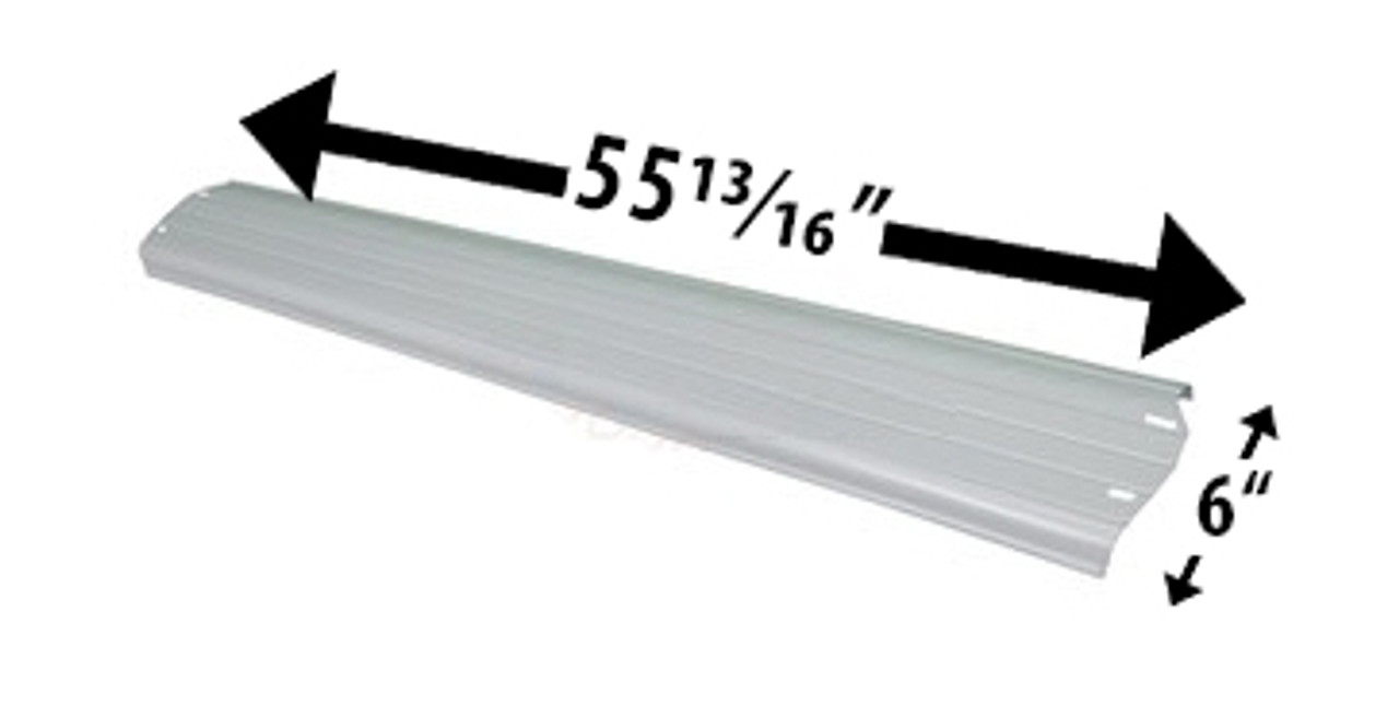 "Wilbar Reprieve, Serenade & Concord 6"" Top Rail  55-13/16"" - 21428 - Buy 3 or More and Save 10%"