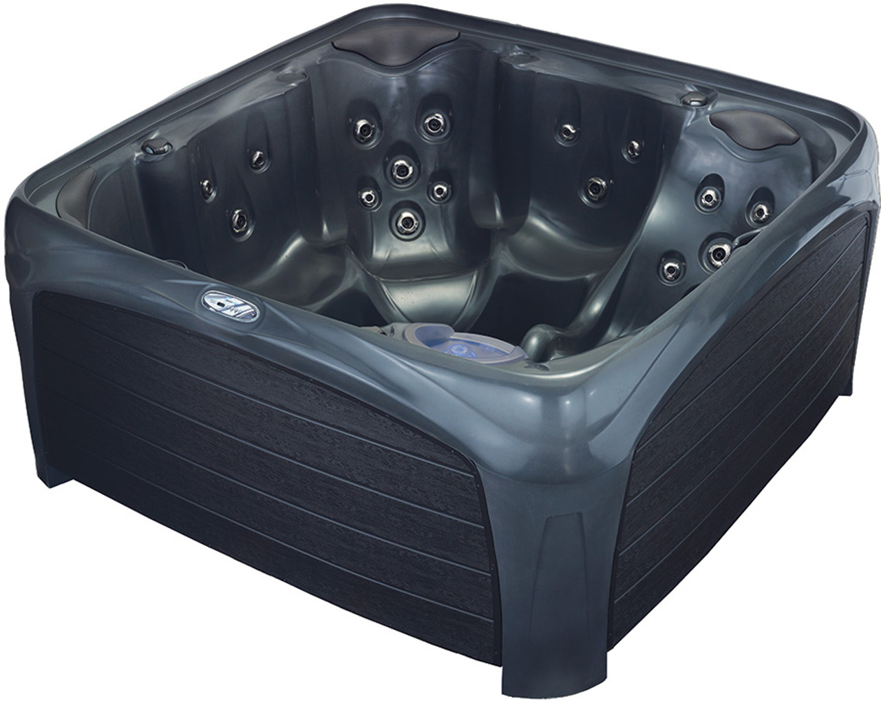 Crossover 730L Hot Tub - Metallic Gray & Black