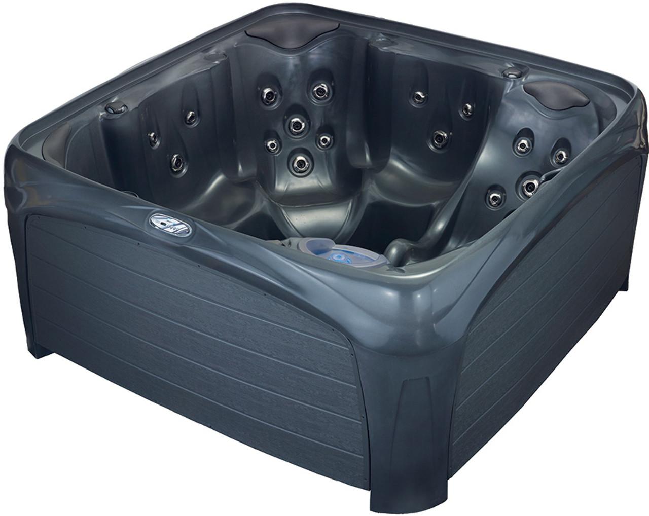 Crossover 730L Hot Tub - Metallic Gray & Gray