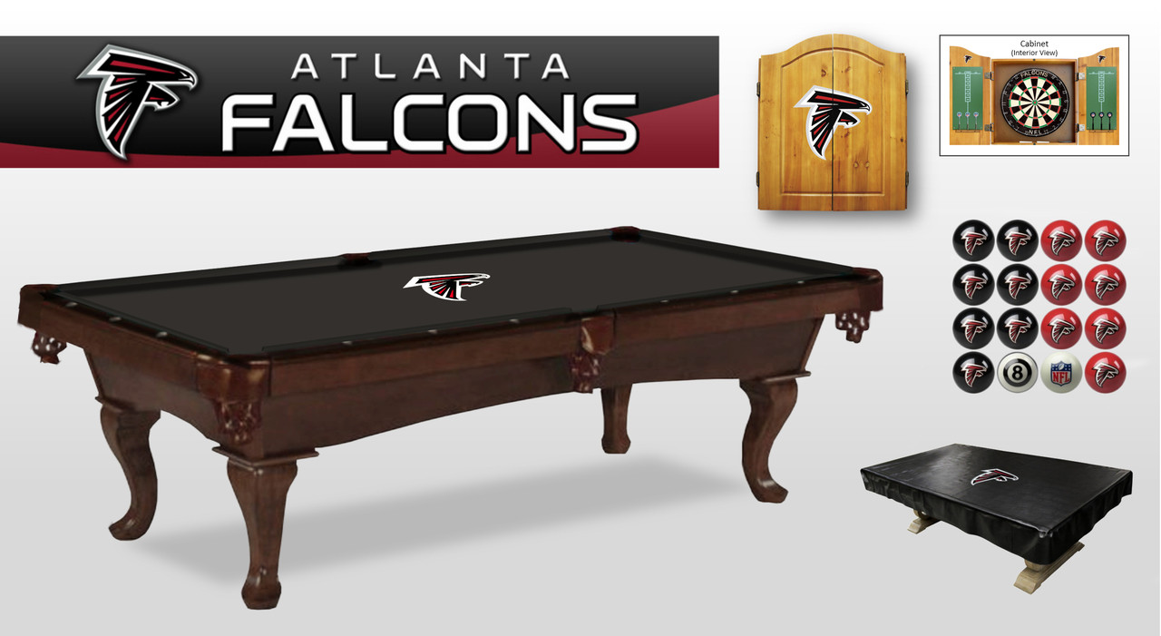 Atlanta Falcons Billiard Set