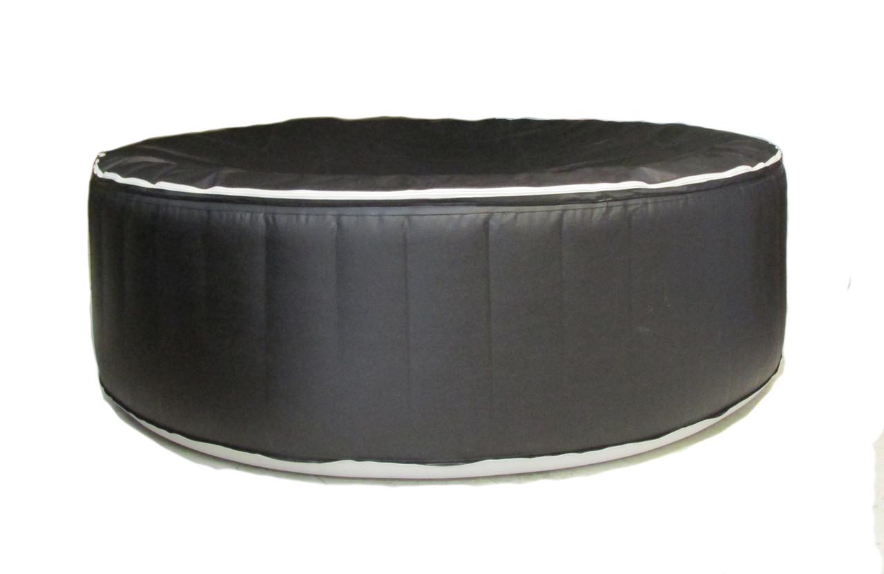 7' Inflatable Hot Tub by Aqua Spa with Heater & Air Pump
