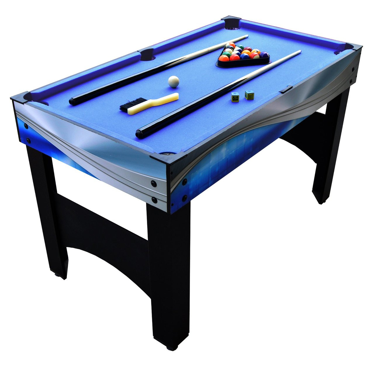 Matrix 54 In 7 In 1 Multi Game Table With Foosball Pool Glide Hockey Table Tennis