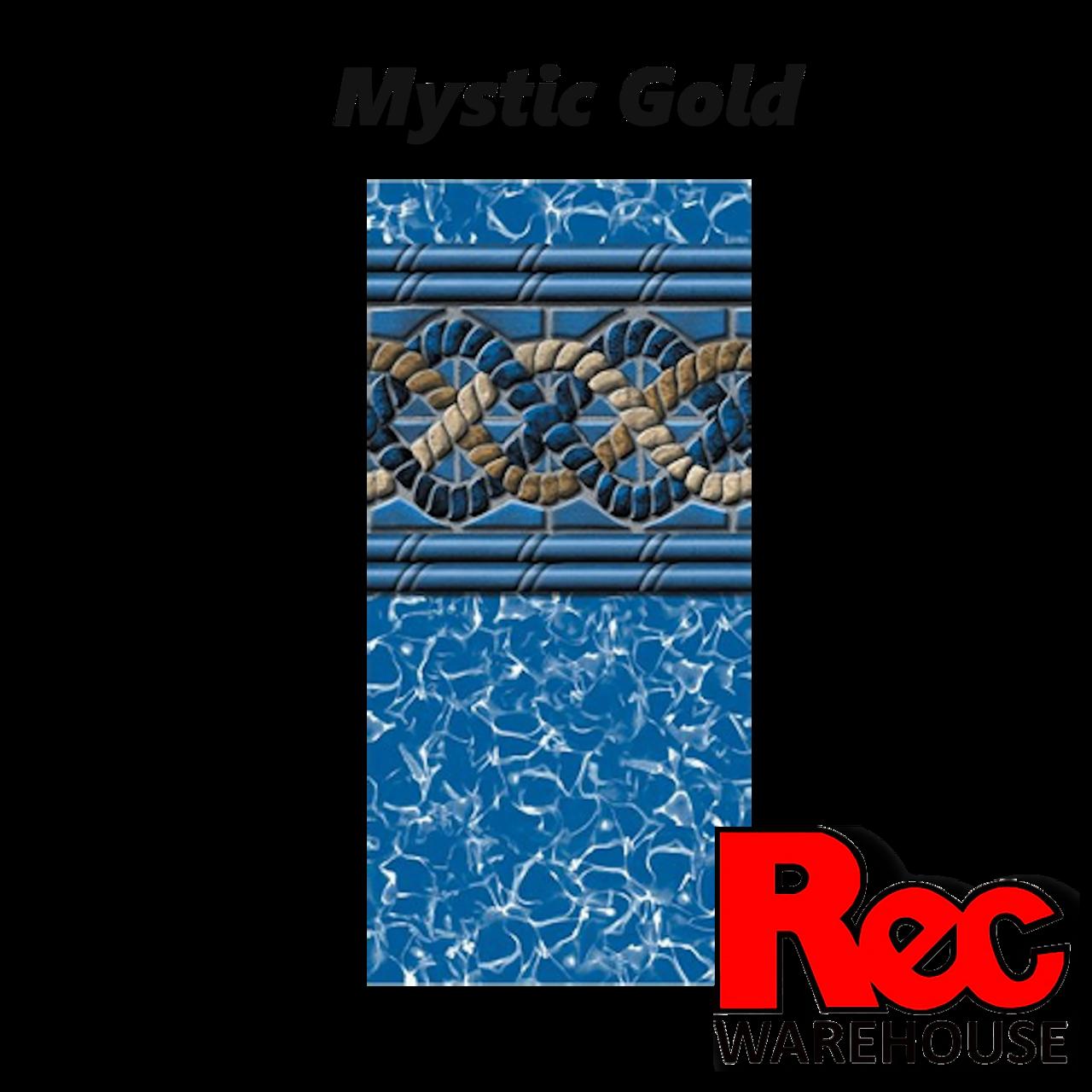 Swimline Mystic Gold 25 Mil Unibead Liner