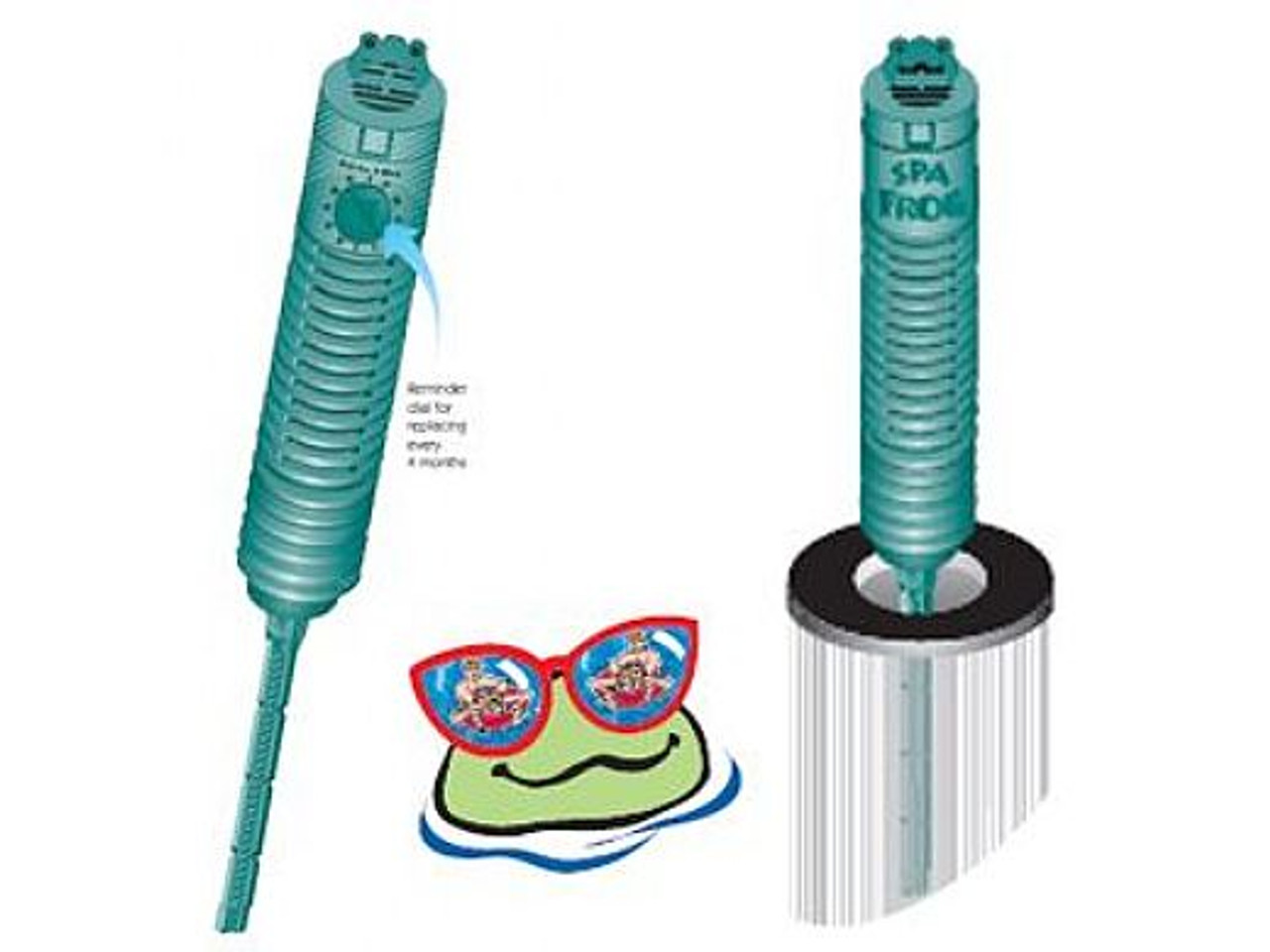 Spa Frog Mineral Purifier ,01-14-3712