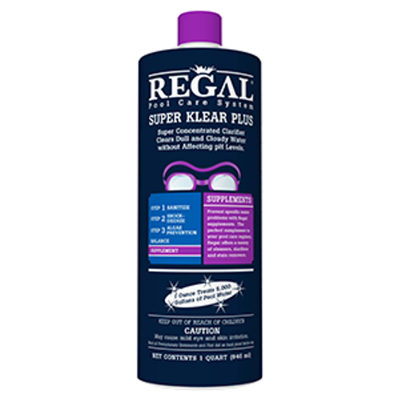 REGAL QT SUPER KLEAR PLUS, FREE SHIPPING, Super Blue