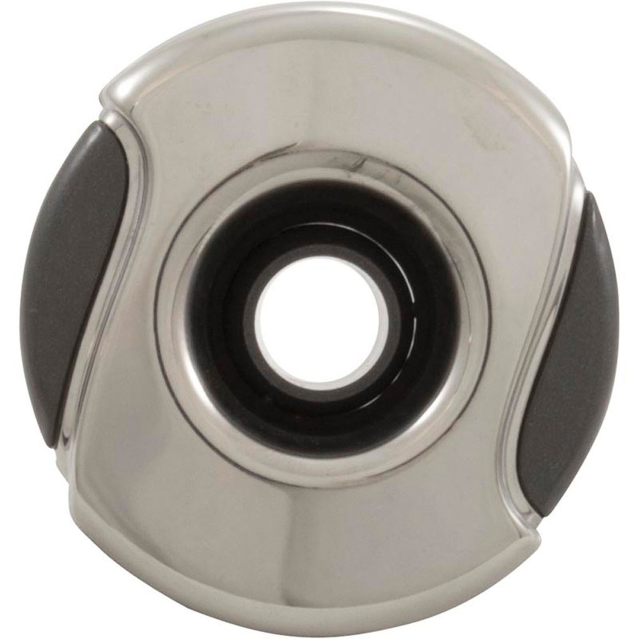 """CMP, Customer molded products, 23422-119-000, Jet Internal, 2"""", Typhoon 200,  Stainless Steel, Graphite Gray, 2"""", Wave face, Hot tub, spa"""