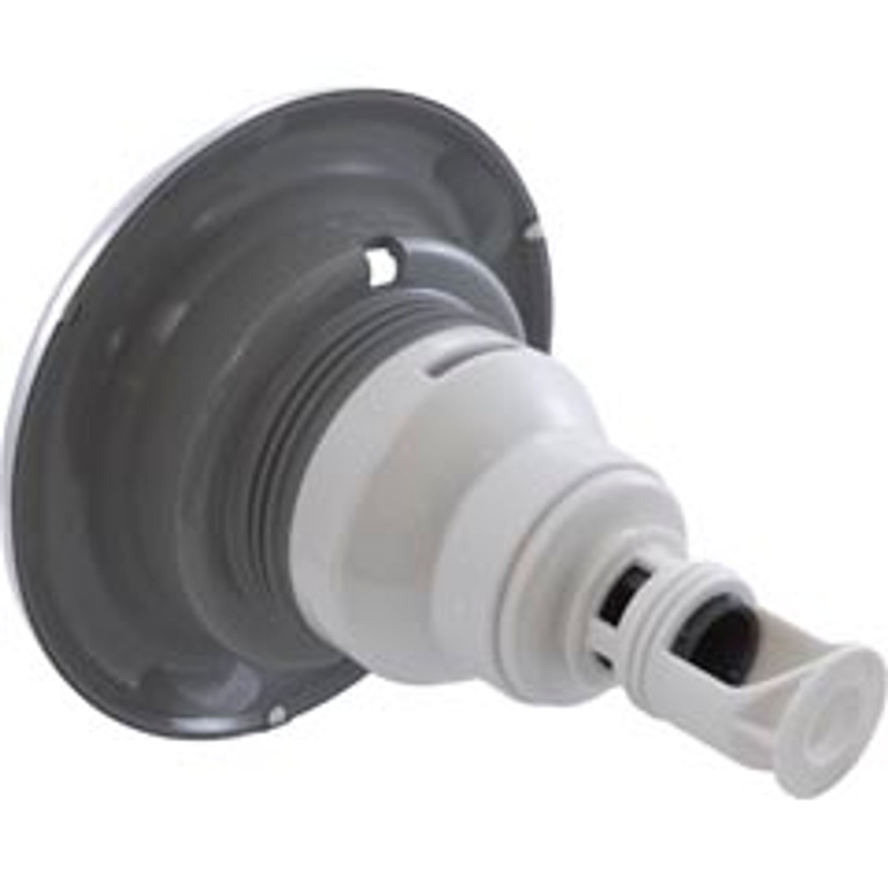 """229-7637S, Waterway, 5"""", Dia, SS, Stainless, steel, Power Storm, Directional, Threaded, Gray, Scalloped, Jet, Internal. FREE SHIPPING, spa, hot tub"""
