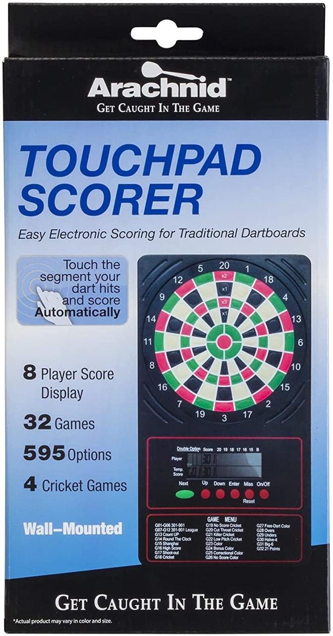 "ESCORELCD, Arachnid, 10"", Electronic, LED, Touch Pad, Dart, Scorer, FREE SHIPPING"
