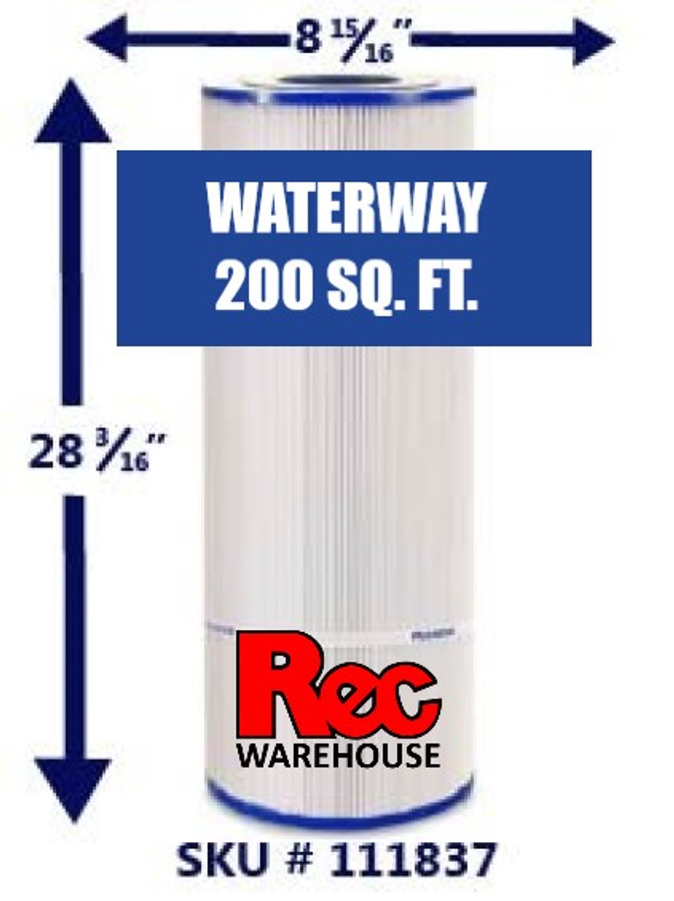 Waterway - Pro Clean Filter Elements 200 SF
