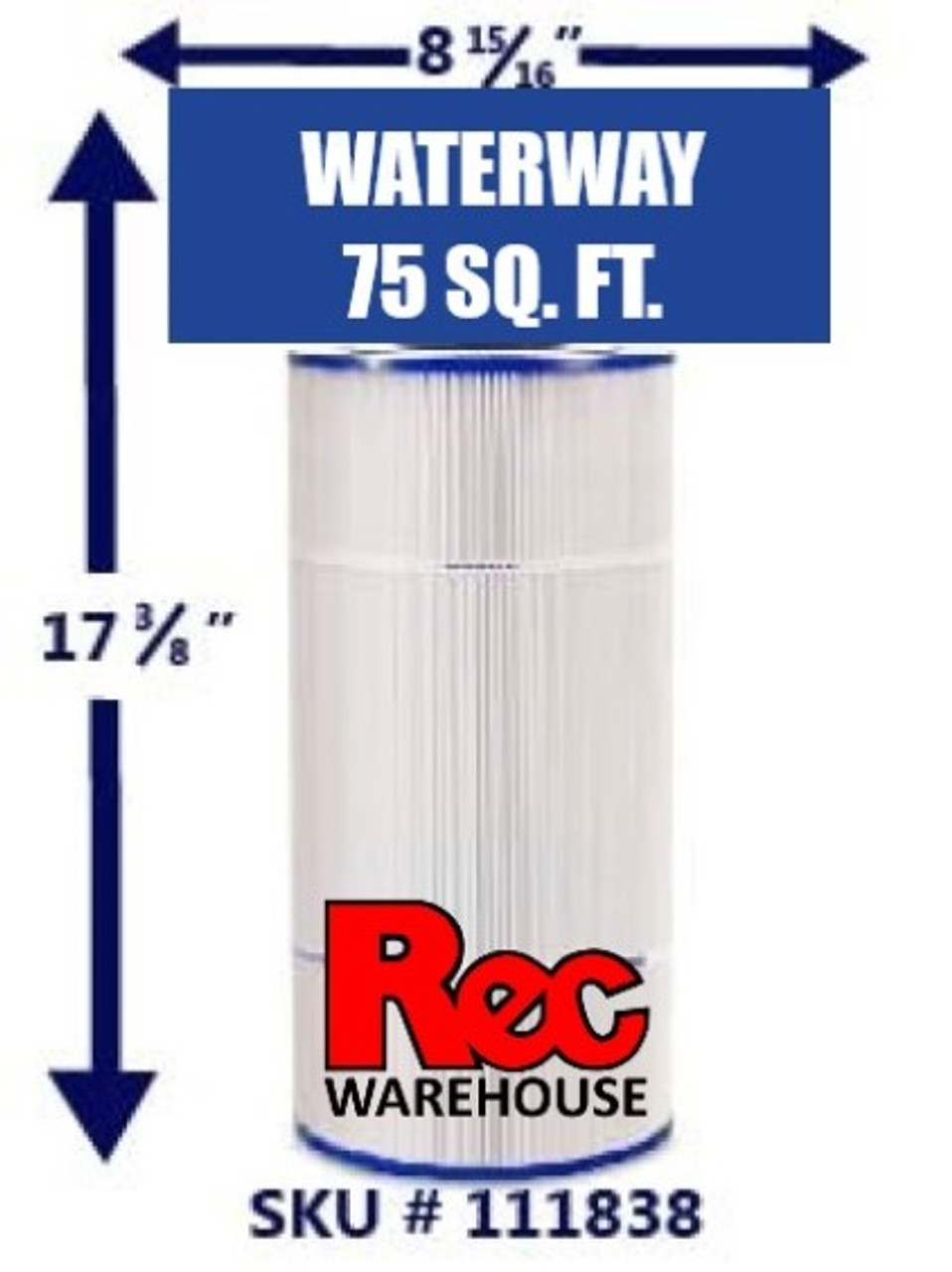 Waterway - Pro Clean Filter Elements 75 SF