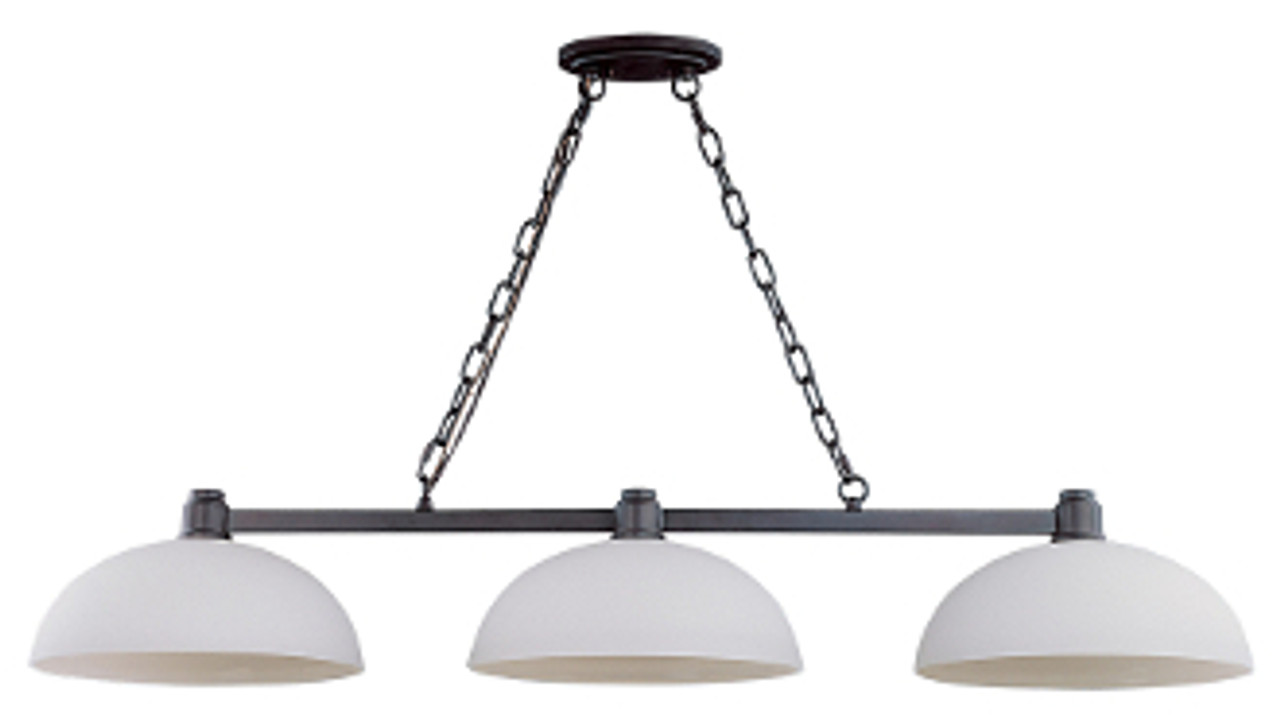 Chelsey Billiard Light Fixture - Dark Bronze