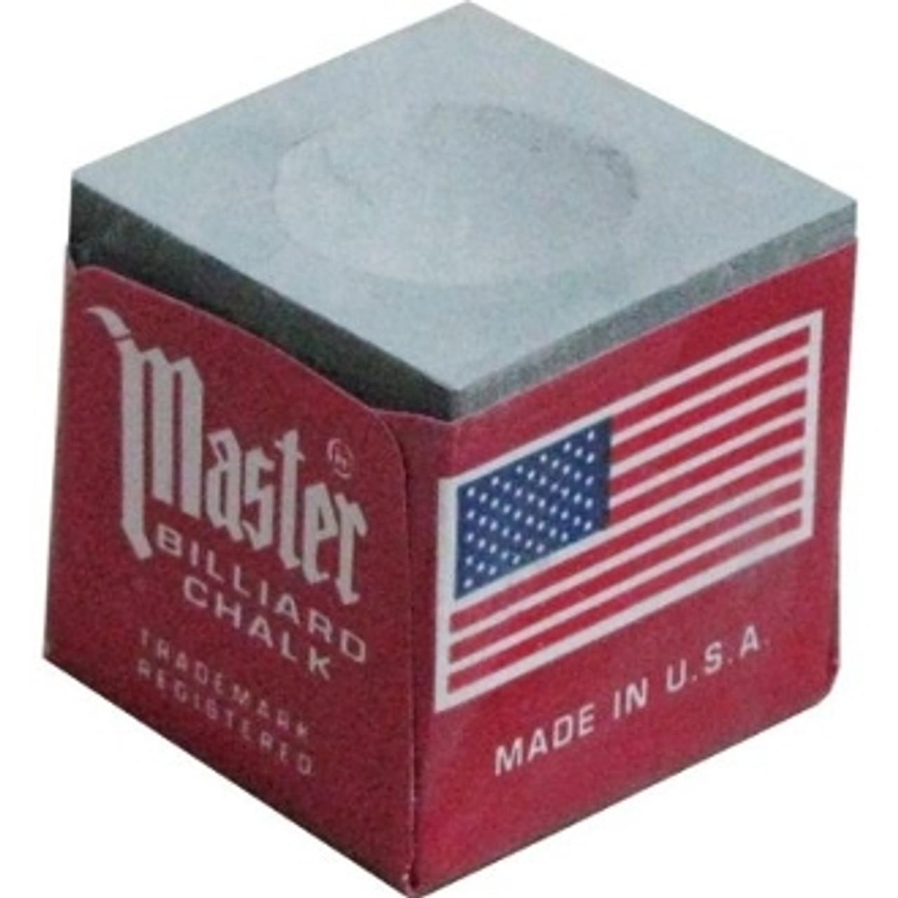 Masters Billiards Chalk Grey