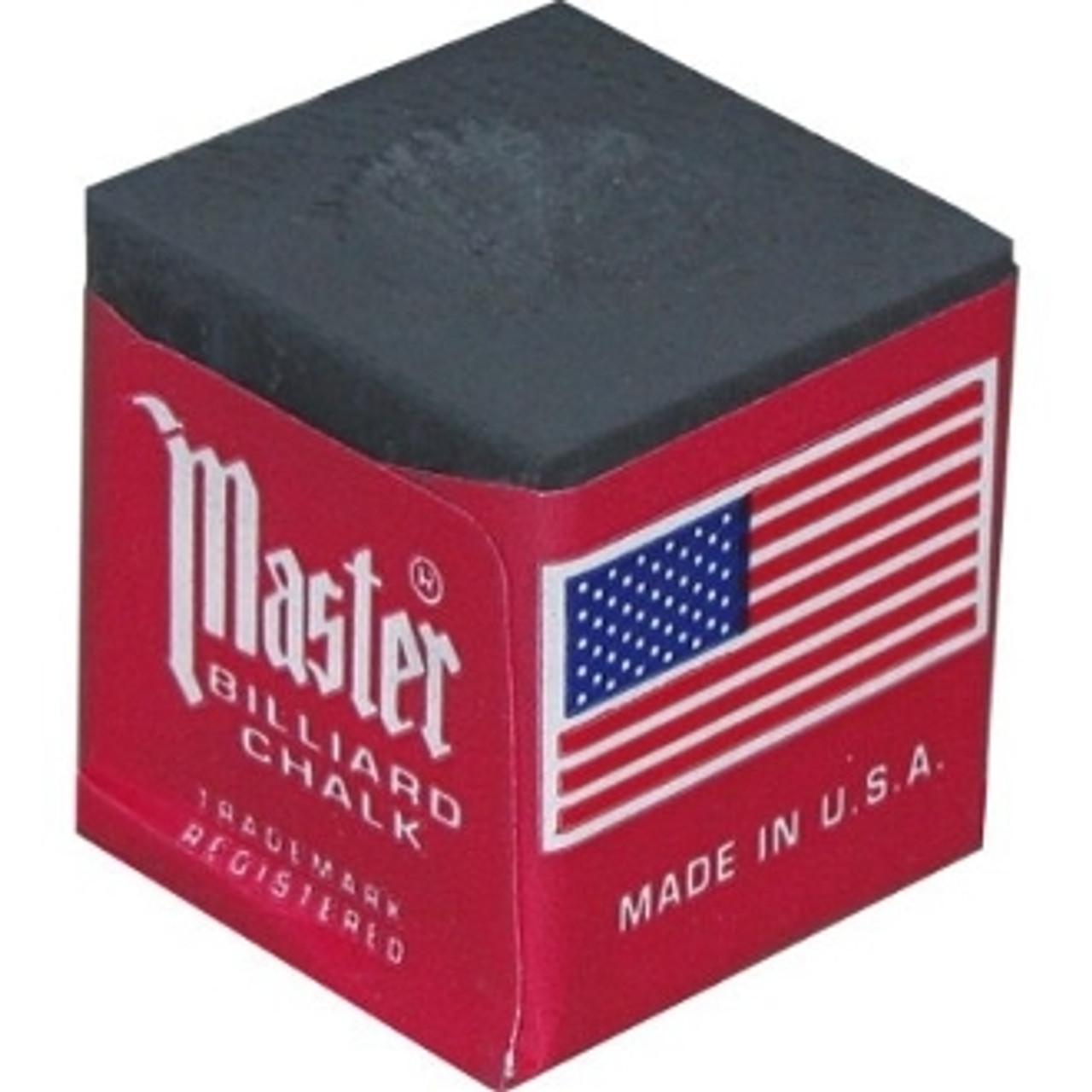 Masters Billiards Chalk Black