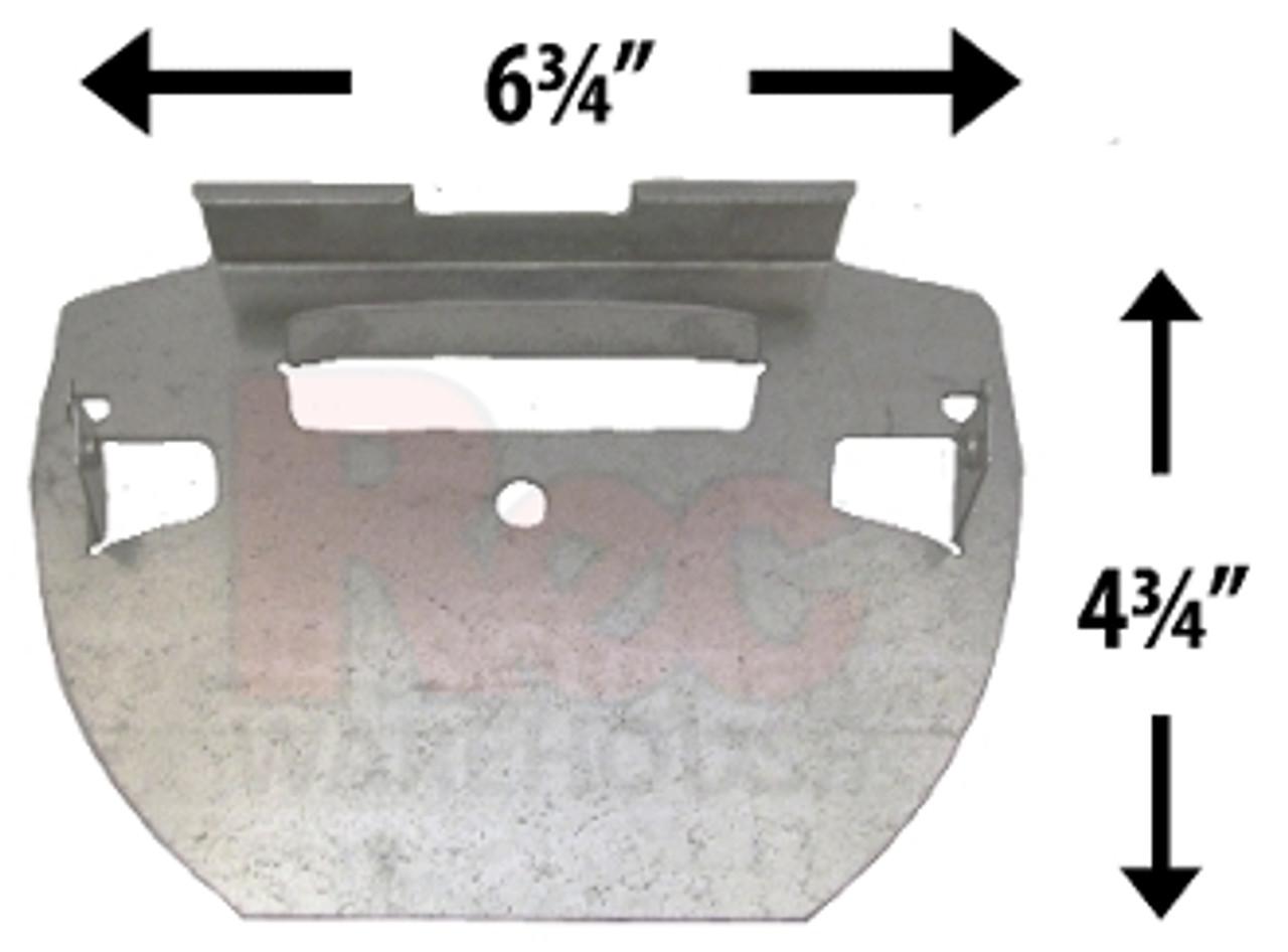 Atlantic J5000/Belize Steel Bottom Plate - 1320144