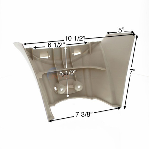 4 PACK, 1490520, Atlantic, J4000, Belize, Top, Cap, Support, Lower, FREE SHIPPING, 4 PACK, above, ground, swimming, pool