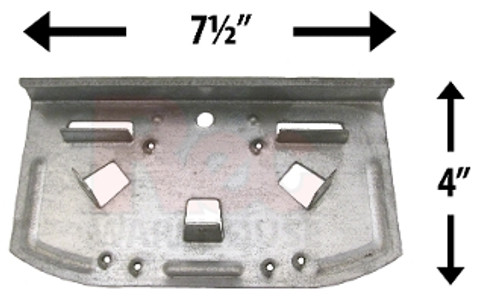 Wilbar SEAPSRAY TOP PLATE 12777  FOR Ponderosa, Sequoia and Other POOLS - Buy 3 or More and Save 10%