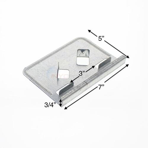 "Wilbar ,Allure, 5"", Steel, Bottom, Plate, 11491, above ground, swimming, pool"