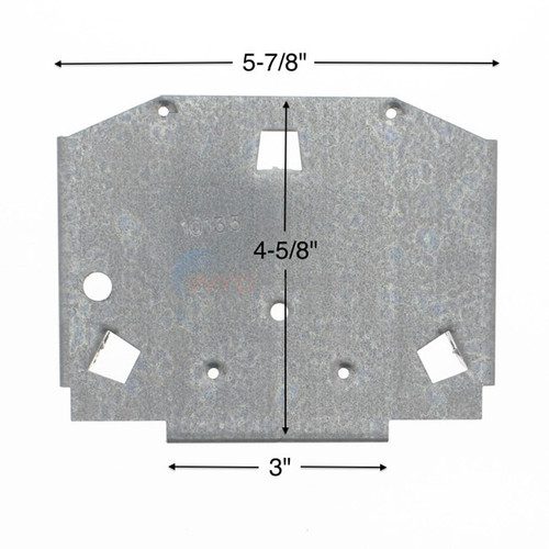Wilbar Allure Steel Top Plate - 10135 - Buy 3 or More and Save 10%