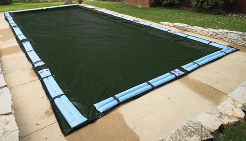 Evermore, Rectangular, Swimming, Pool, Solid, Winter Cover, Kit, inground, swimming, pool, swimline, gli, poolstyle, 16'x32', 16'x36', 18'x36', 18'x40', 20'x40', 20'x45', 25'x45'