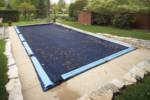 Leaf Net Inground Rectangle Cover