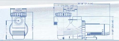 Magnum Variable Speed 1.65HP Pump