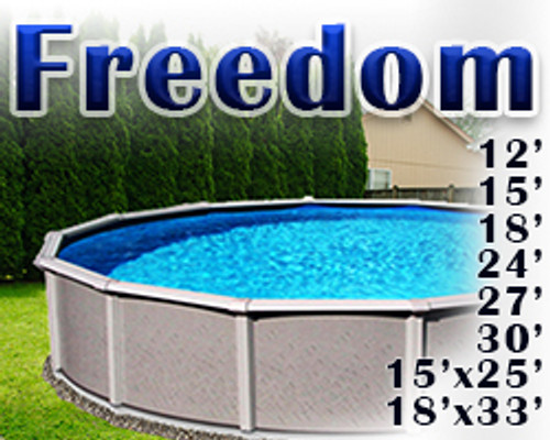 Freedom Swimming Pool - Replacement Pool [Wall, Frame, Liner, & Skimmer]