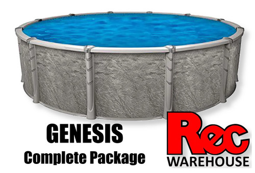"54"" Genesis Resin Complete Pool Package (Multiple Sizes Available) $3,699.99 - $8,299.99"
