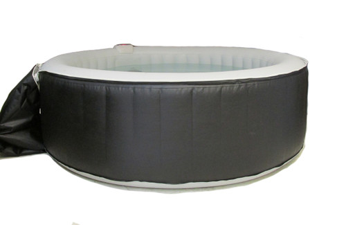 7' Inflatable Hot Tub by Aqua Spa with Heater & Air Pump