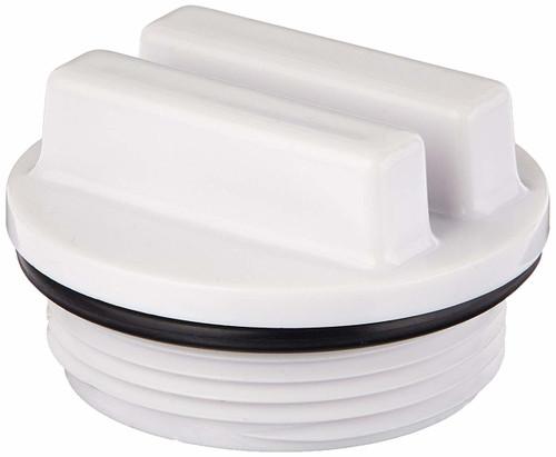 "2 PACK - 1.5"" Pool Plug Cap, Swimming Pool Return Line Winter Plug w/O-Ring - 2 PACK-"