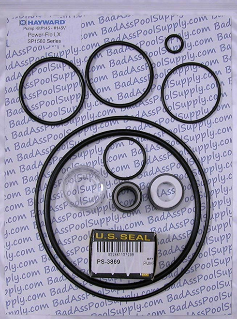 HAYWARD POWERFLO VITON PUMP SEAL KIT SPG-601-5105