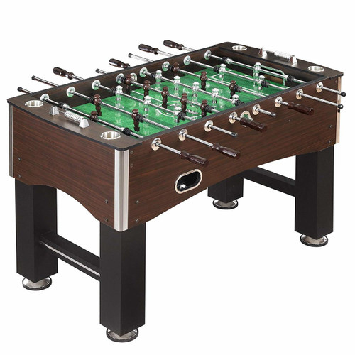 Cadillac 56-Inch Foosball Table, Family Soccer Game with Wood Grain Finish, Analog Scoring and Free Accessories (FO-1010) FREE SHIPPING!!