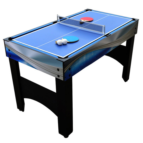 "NG1154M, Combo, Matrix, 54"", 7in1, Multi, Game, Table, Foosball, Pool, Glide Hockey, Table Tennis, Chess, Checkers, Backgammon, Blue Wave, Hathaway,  FO-1080"