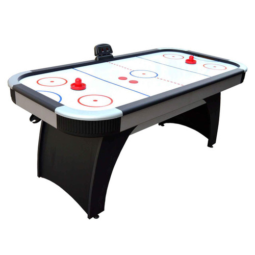 NG1029H, 6', Air Hockey, Game Table, Electronic Scoring,  AH-03,  FREE SHIPPING, Hathaway, blue wave