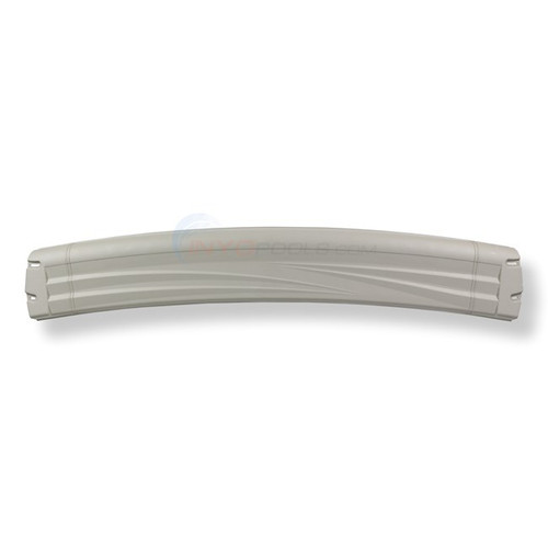 "Wilbar MORADA/QUEST/NOVA/SUPER NOVA 8"" Resin Top Rail for 15' Oval Pool Curved Ends - 19608 - Buy 3 or More and Save 10%"