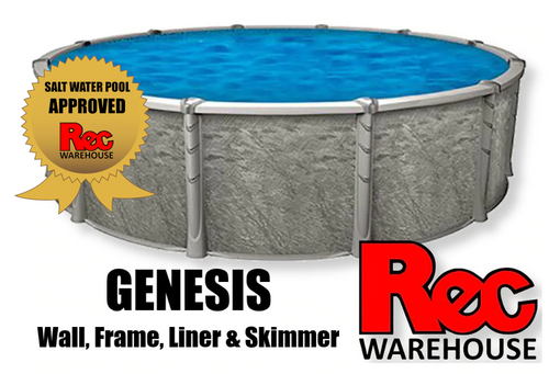 """54"""" Genesis Resin Replacement Package Wall, Frame, Liner & Skimmer Available Sizes: 15', 18', 24', 27', 30', 15'x30' & 18'x33'"""