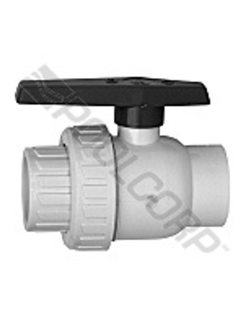 "1-1/2"" SxS Union Ball Valve $24.88 Free Shipping"
