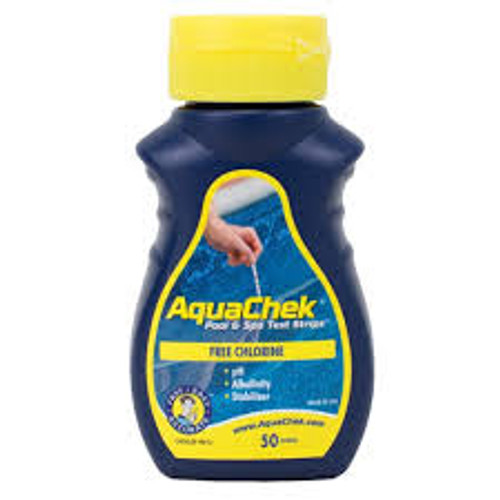 511242A, 511244A, AquaChek, Yellow, 4-Way, Chlorine, Test, Strips, 50ct, FREE SHIPPING, swimming pool, aqua, check, chek