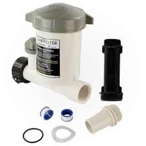 Inline, above, ground, chemical, Chlorine, dispenser,  Feeder, $68.88 Free Shipping by Waterway, waterway, CAG004-W, Chlorinator