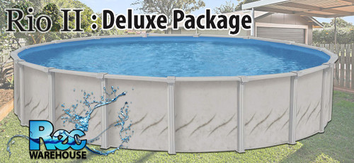 Rio II Swimming Complete Pool Package