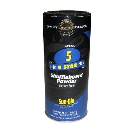 Sun-Glo 5 Star Shuffleboard Wax