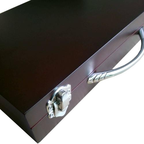 Shuffleboard Pucks w/ Case - Set of 8