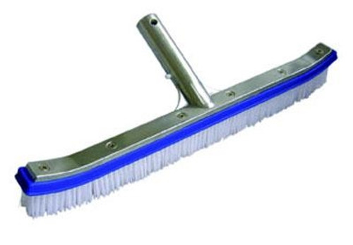 "18"" Nylon Bristol Deluxe  Metal Brush"