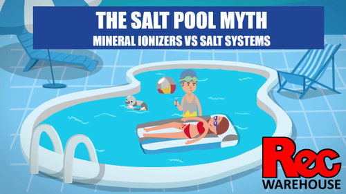 THE SALT POOL MYTH!  Mineral ionizers vs salt systems