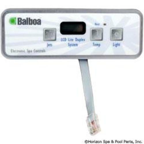 Balboa Lite Duplex, Pump, Light, Temp Topside, 54135-01