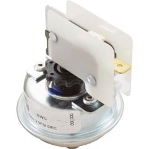 "Pressure Switch, 3A, BWG, 1/8""mpt, SPST, 30408"