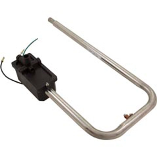 "Heater Assembly, Sundnace/Jacuzzi, Square Back Box, 5.5kW, 230V, 3/4""Barb x 1""Diameter Tube w/Auto Reset,6500-402"