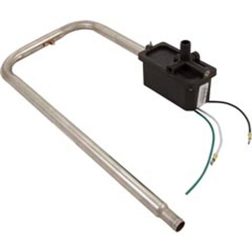 "Heater Assembly, Sundnace/Jacuzzi, Square Back Box, 5.5kW, 230V, 3/4""Barb x 1""Diameter Tube w/Auto Reset,6500-402"