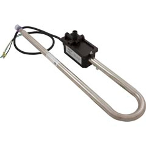 "SUNDANCE HEATER ASSEMBLY: 4.0KW 240V CURVED WITH 42"" CORD LOW FLOW, 6500-063"
