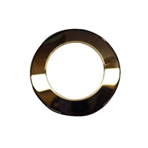 6540-247 Sundance Chrome Air Injector Escutcheon, Flat Style